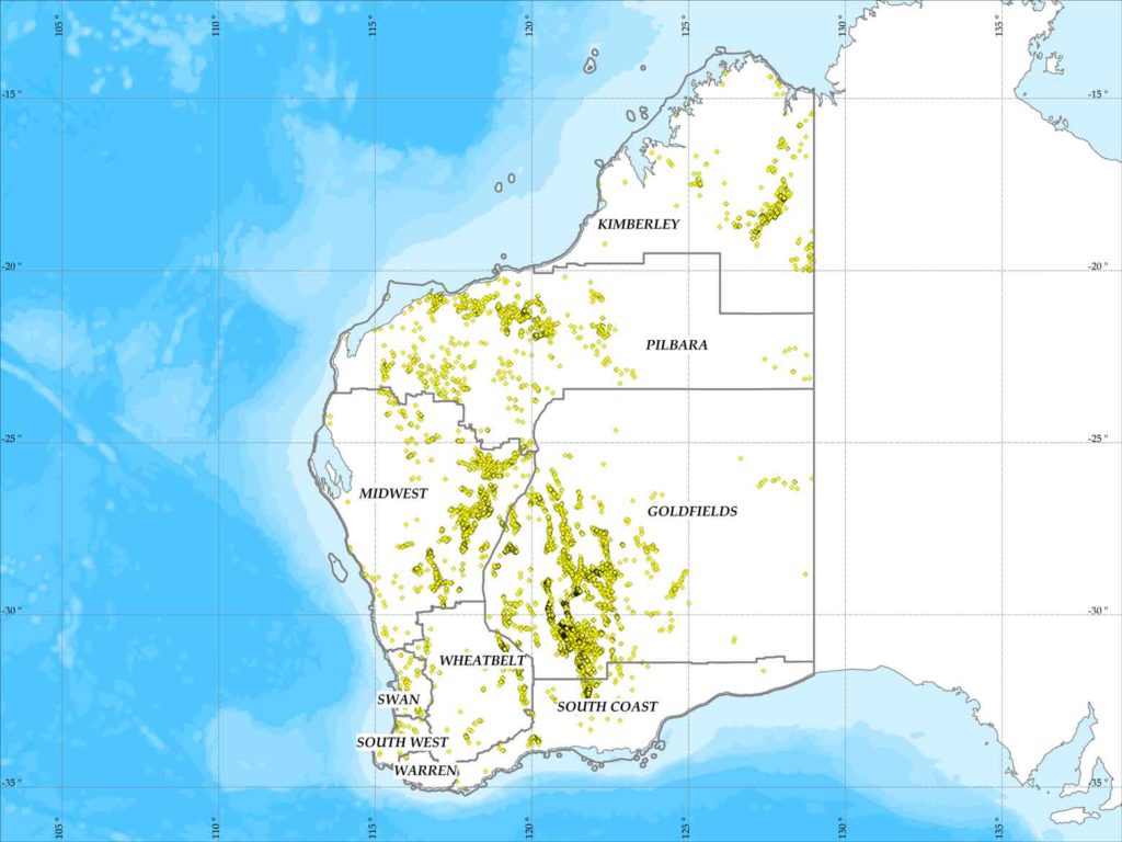 Map Of Australia Gold Rush.The Pilbara Gold Rush A Dream Come True Or A Myth Prospector World